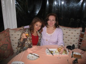 Barb and me at the BelAir Hotel