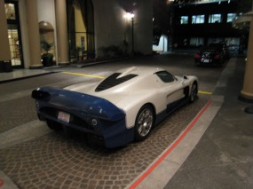 Fancy cars at fancy Restaurants - LA