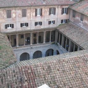 Bramante's Cloister - Rome