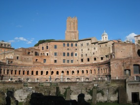 Trajan's market - the world's first shopping mall