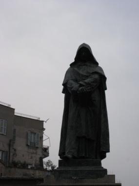 Giordano Bruno, Campo Dei Fiori