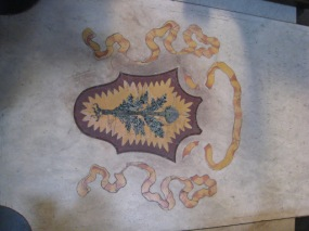 The floor of my favourite church