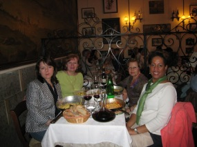Sandra, Me, Santina and Carla