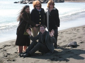 A Day at the Beach - in February!