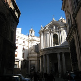 Santa Maria Della Pace - 100 m. from my apartment in Rome