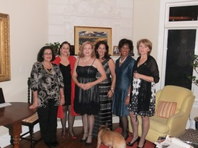 """Off to see """"Priscilla, Queen of the Desert"""", Mary, Leesa, Me, Grace, Carla & Sandra"""