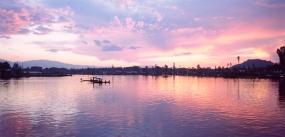 Sunset Dal Lake-Srinagar