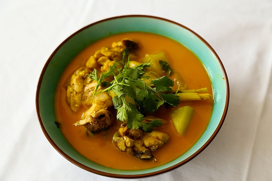 Bachelor Chicken and Gourd Curry