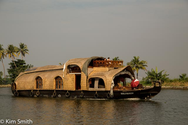 House boats on the back waters of Kerala