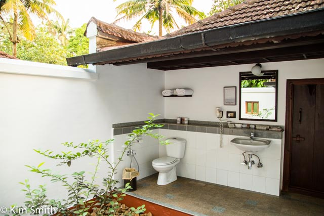 My well ventilated bathroom at Coconut Lagoon