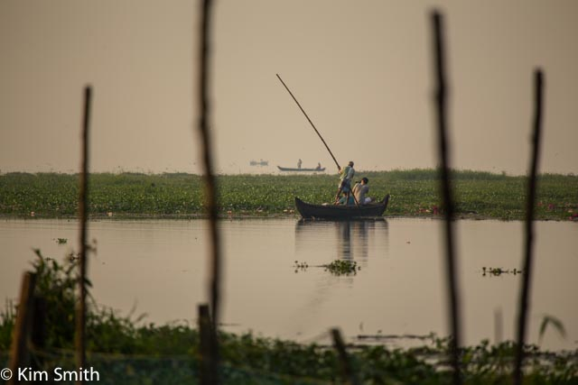 Fishermen on Lake Vembanad