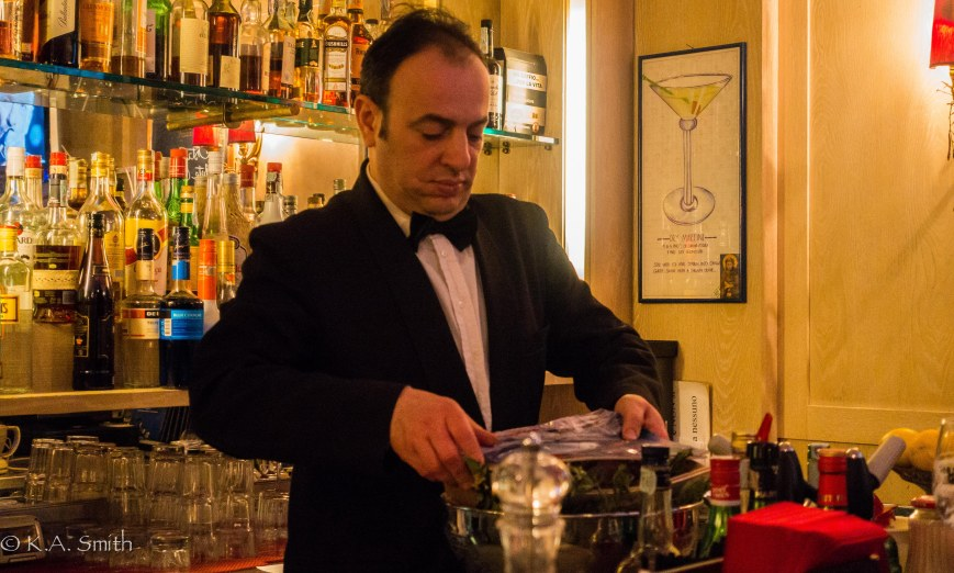 My favourite bartender - Franco.
